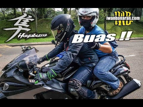 Mencicipi Suzuki HAYABUSA 1300   Buassss !!!