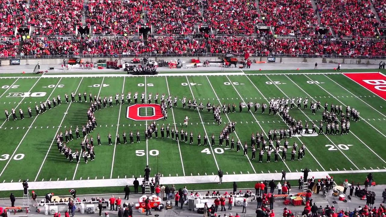 OSUMB 11 22 2014 Entire Game Day Ohio State vs Indiana ...