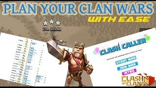 Clash of Clans: Easily Plan Your Clan Wars with Clash Caller!