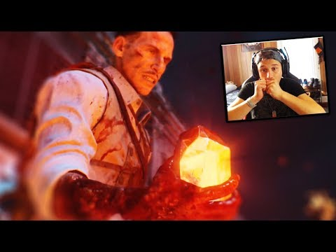 BLACK OPS 4 ZOMBIES - BLOOD OF THE DEAD GAMEPLAY TRAILER LIVE REACTION! - (COD BO4 REACTION)