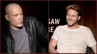 Vince Vaughn and Luke Bracey on Mel Gibson, faith and being better human beings (Hacksaw Ridge)