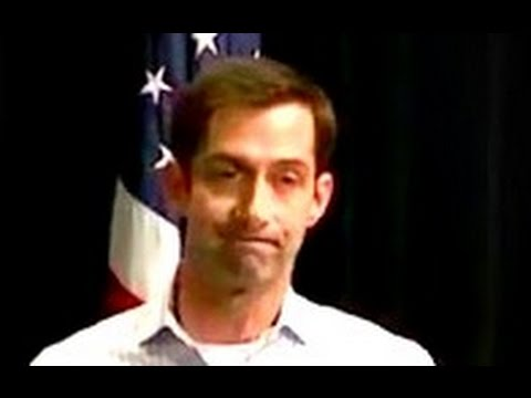 Thumbnail: Senator Tom Cotton gets BOOED for defending Trump on releasing tax returns Rowdy Town Hall 4/17/2017