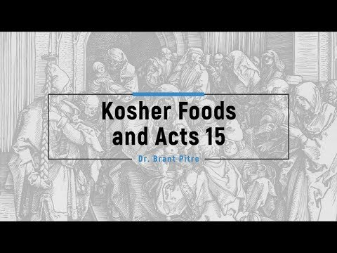 Kosher Foods and Acts 15