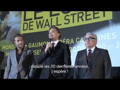 LE LOUP DE WALL STREET Avant première mondiale à Paris
