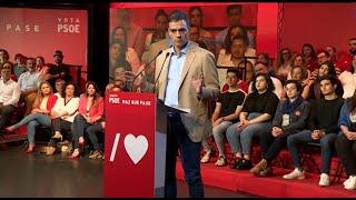 Sánchez promete reforma de Constitución que blinde pensiones públicas