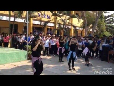Nhảy Hiện Đại-9a6-THCS TT Mỹ Luông