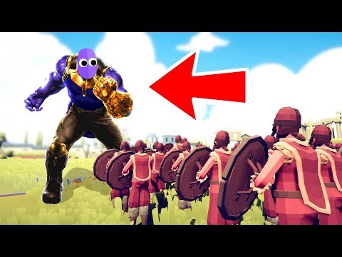 They Put AVENGERS ENDGAME In TABS And It Was An EPIC BATTLE In Totally Accurate Battle Simulator