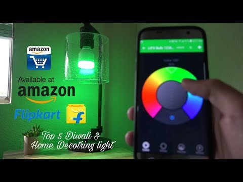 5 cool GADGETS for DIWALI & HOME decorating | On Amazon and Flipkart