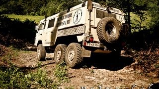 Volvo TGB13 6x6 - C304 Off-road in the Balkans