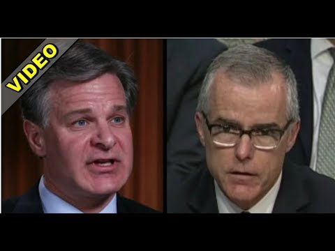 LIBERALS PANIC AS FBI DIRECTOR WRAY DROPS BRUTAL TRUTH BOMB ON MCCABE!