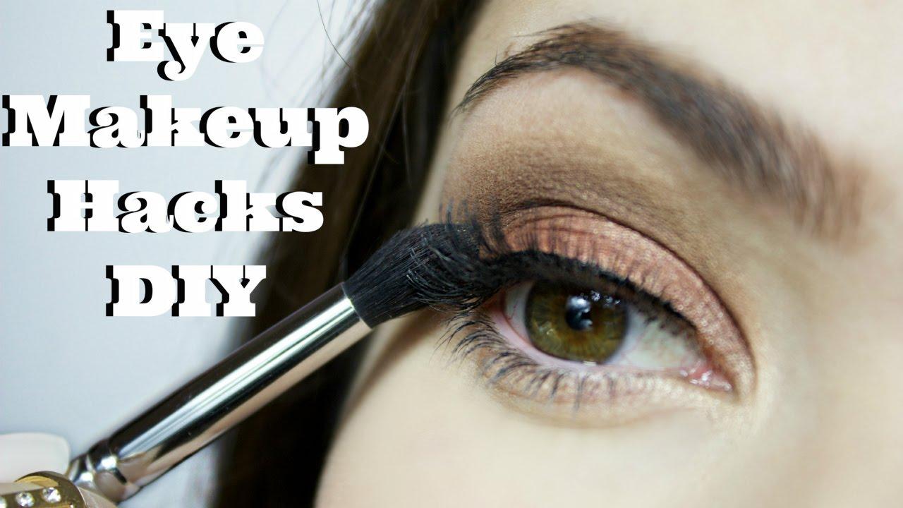 Eye Makeup Diy Hacks Youtube