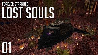 ►Forever Stranded: Lost Souls - STRANDED! | Ep. 1 | Modded Minecraft Survival◄