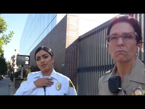 Long Beach Courthouse  ( UNPROFESSIONAL  LADIES IN CHARGE ) 1st Amend Audit