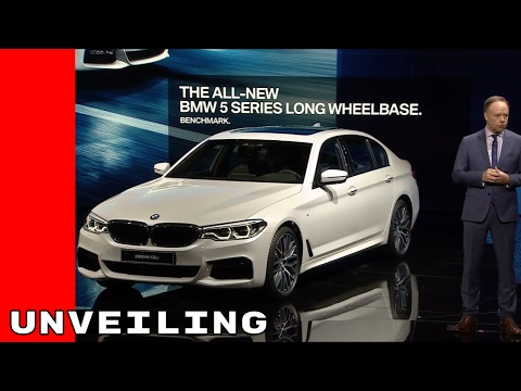 2017 BMW 5 Series Long Wheelbase LWB Unveiling