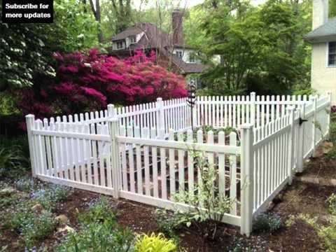 garden fence ideas vinyl fencing for gardens fence ideas and designs 31627