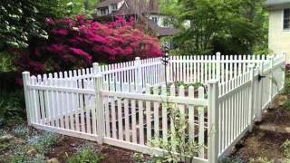 Vinyl Fencing For Gardens | Fence Ideas And Designs