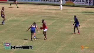 2018/19 TIO NTFL Highlights - Round 13: Aussie kicks 4 in his 150th