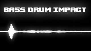 Bass Drum Impact Sound Effect