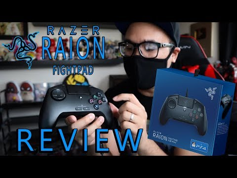Razer Raion Fightpad - Unboxing & Review