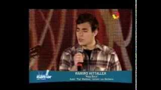 """Ramiro Hittaller - """"Roja boca"""" - Soñando por cantar - 05/10/13"""