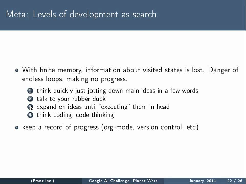 Google AI Contest Winner Gábor Melis on Why Lisp
