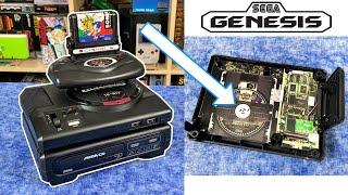 The Sega Genesis Mini Tower has HIDDEN SECRETS! Design Schematics & Poster!