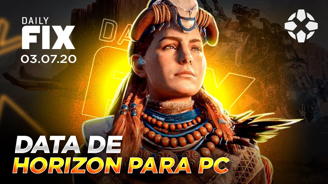 HORIZON ZERO DAWN GANHA DATA PARA PC, FALLOUT VAI VIRAR SÉRIE DE TV - Daily Fix