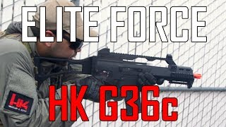 Rock Out with my Koch Out (Elite Force G36C w/ EBB & MOSFET)- Airsoft GI
