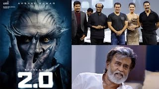Rajinikanth and Akshay Kumar's 2.0 budget is 400cr