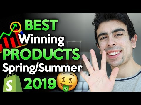 5 Winning Products To Sell This Spring/Summer 2019 | Shopify Dropshipping thumbnail