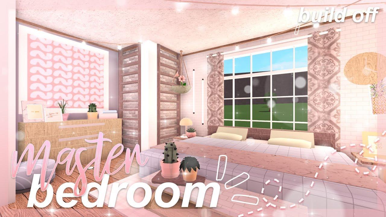 Bloxburg Master Bedroom Build Off Giveaway Youtube