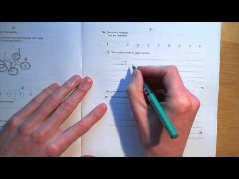 OCR GCSE Mathematics June 2011 Foundation Paper1