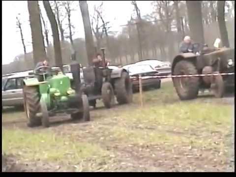 1e Gloeikoppersweekend 2004 in Wortel (B) met Lanz Bulldog, Vierzon
