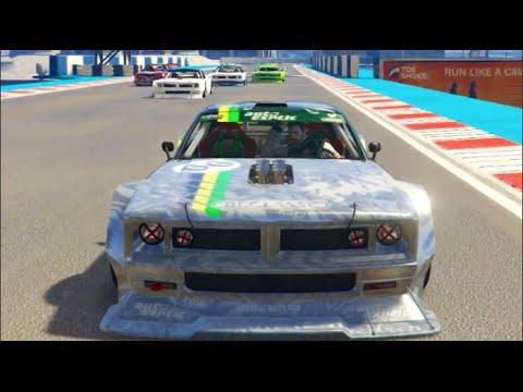 GTA 5 ONLINE Cunning Stunts Hoonicorn Races! w/Crew PT2