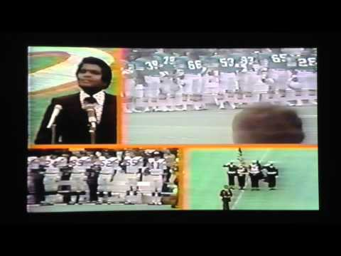 Super Bowl 8 Miami Player introductions