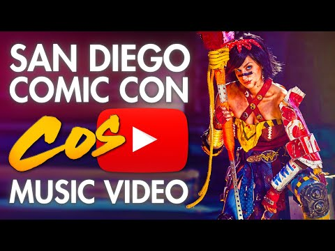 Comic Con (San Diego) - SDCC - Cosplay Music Video - 2013