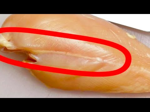 What Will Happen If You Start Eating These White Lines On Chicken Meat!