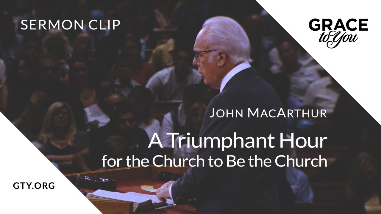 A Triumphant Hour for the Church to Be the Church