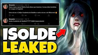 New Champion Isolde LEAKED!! - League of Legends