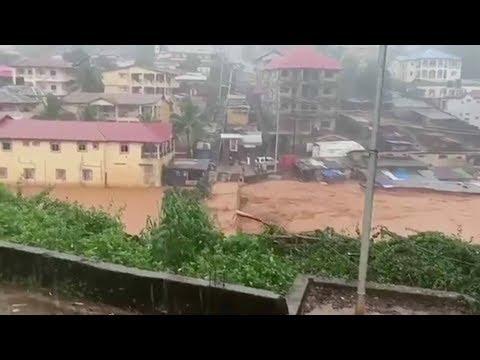Hundreds feared dead in Sierra Leone mudslide