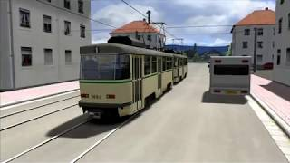Tatra T4 Tram Train Simulator 2018