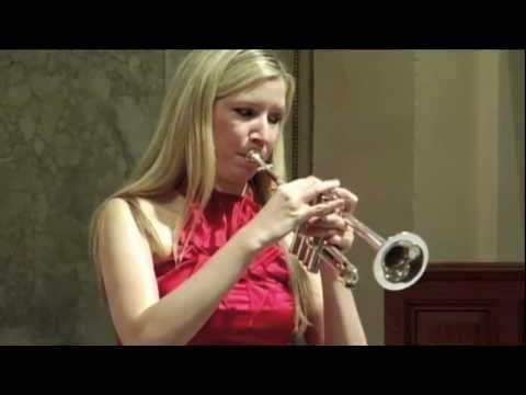 Mary Bowden, trumpet, Vivaldi/Bach mvt. 1