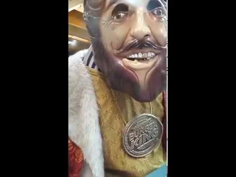The Burger King eats at Burger King