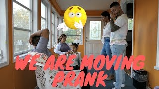 WE ARE MOVING PRANK ON PARENTS  (MOM CRIES!)