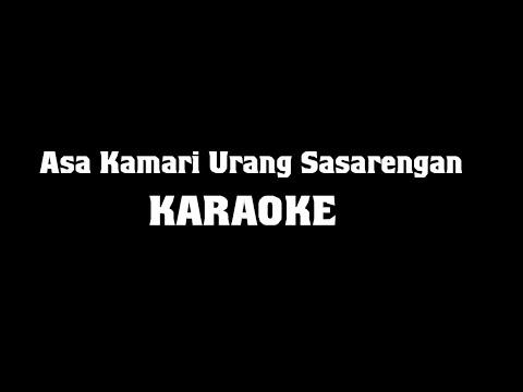 Asa Kamari Urang Sasarengan (PATURAY TINEUNG) Karaoke Lirik