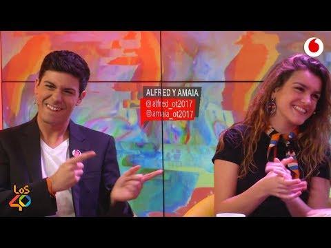 Amaia y Alfred La putada es cuando hemos discutido y tenemos que cantar juntos #AmaiayAlfredEnyu