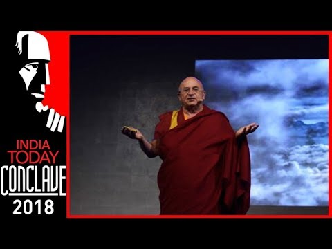 Altruism, Best Answer To The Challenges Of Our Time : Matthieu Ricard | India Today Conclave 2018