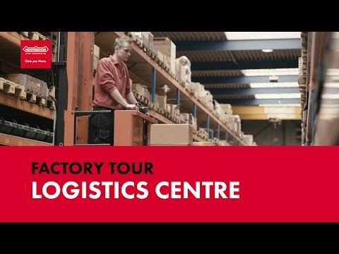 Logistics centre - NOOTEBOOM FACTORY TOUR #4