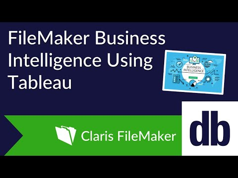 FileMaker Business Intelligence Using Tableau | DB Services
