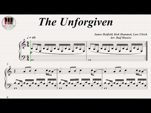 The Unforgiven - Metallica, Piano